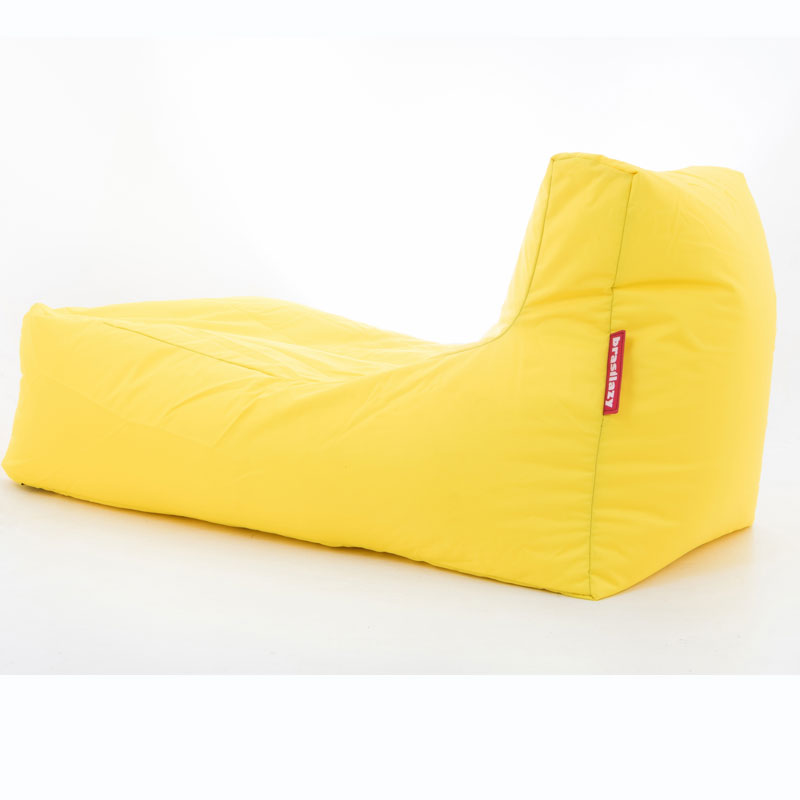 puff sofa grande amarelo