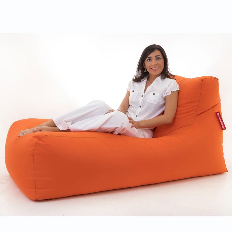 puff sofa grande laranja