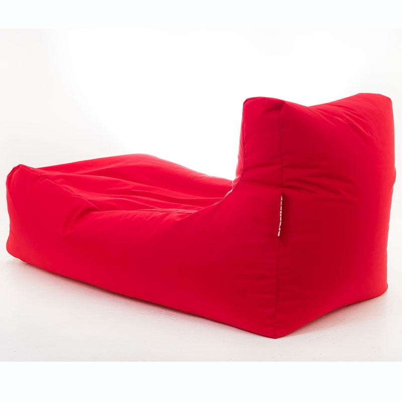 puff sofa grande vermelho