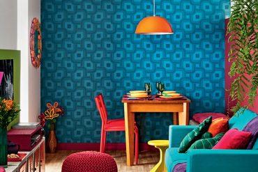 Saiba como usar cores fortes na decoração