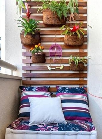 futon na varanda