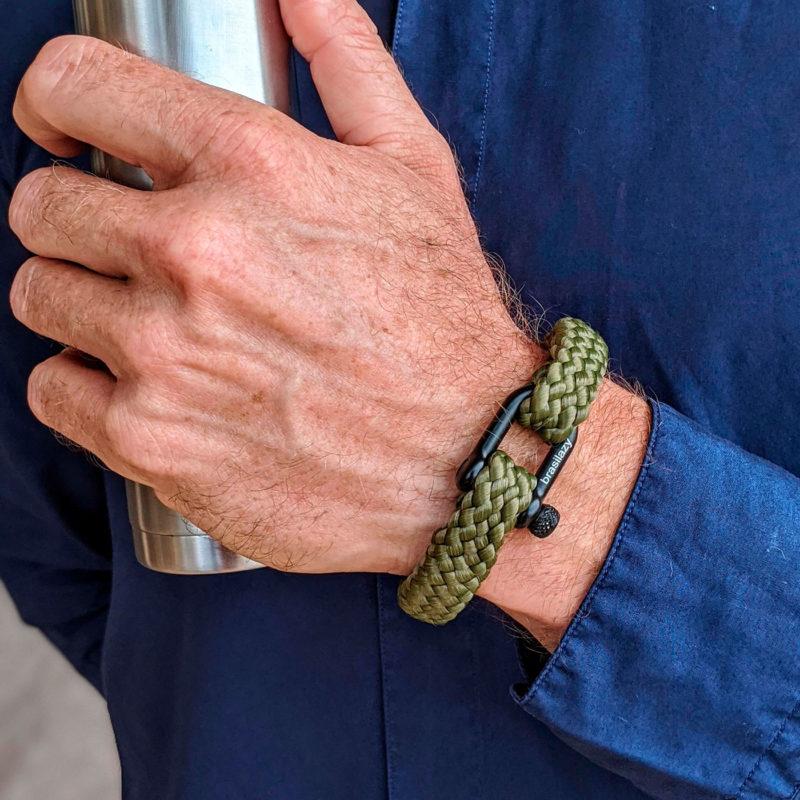 pulseira_bracelet_verde_musgo
